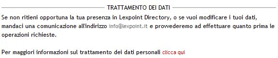 Privacy Lexpoint